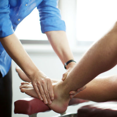 lower limbs leg ankle injury brighton chiropractic
