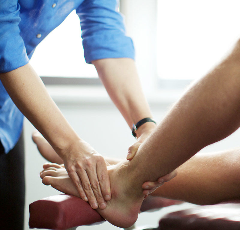 lower limbs leg ankle injury brighton chiropractic